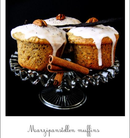 Muffins de Noël, façon Marzipanstollen