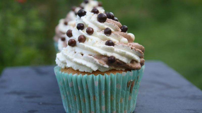 Cup cakes tendrement chocolat…