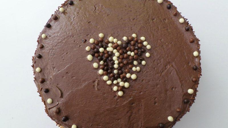 Gâteau Chocolat-Caramel… pour le goûter de mes zamours!