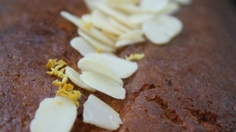 Cake amandes et citron