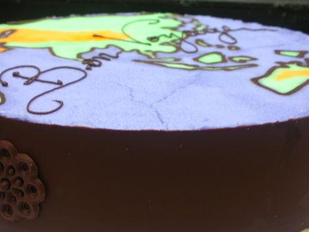 Un gâteau pour un long voyage: Bavarois Vanille et Biscuit au Café