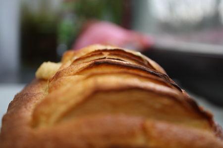 Gâteau aux Pommes et à la Fêve Tonka