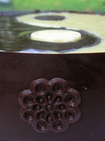 Le Yin et le Yang (Gâteau)